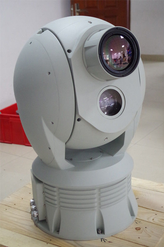Cooled PTZ Thermal Imaging Camera 10 - 60km Cooled EO IR Surveillance System